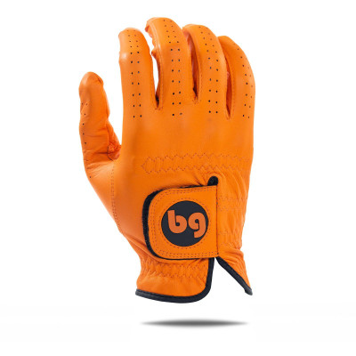 Bender Gloves- MLH Elite Cabretta Leather Glove Orange