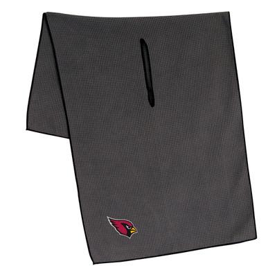 "Team Effort Golf- NFL 19"" x 41"" Grey Microfiber Towel"