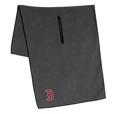 "Team Effort Golf- MLB 19"" x 41"" Grey Microfiber Towel"