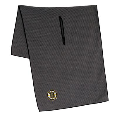 """Team Effort Golf- NHL 19"""" x 41"""" Grey Microfiber Towel"""