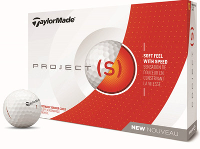 TaylorMade Project (s) Golf Balls LOGO ONLY