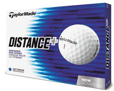 TaylorMade TM Distance + Golf Balls LOGO ONLY