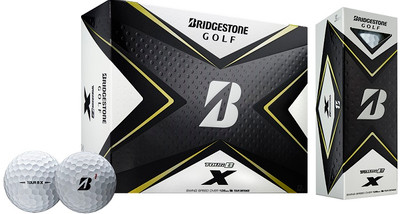 Bridgestone Tour B X Golf Balls LOGO ONLY