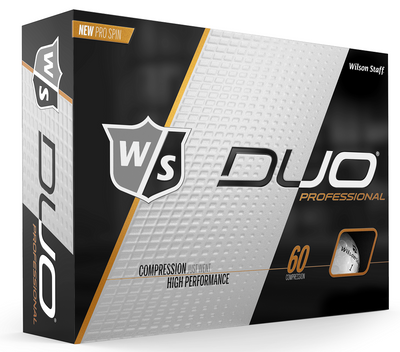 Wilson Staff Duo Professional Golf Balls LOGO ONLY