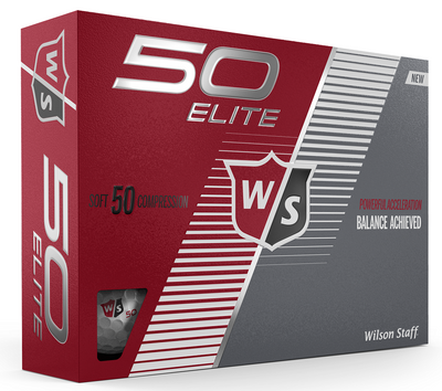 Wilson Staff Fifty Elite Golf Balls LOGO ONLY