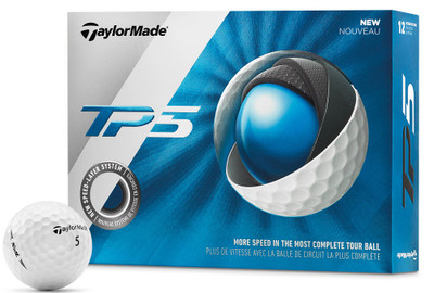TaylorMade Prior Generation TP5 Golf Balls LOGO ONLY