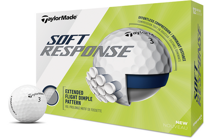 TaylorMade Soft Response Golf Balls LOGO ONLY