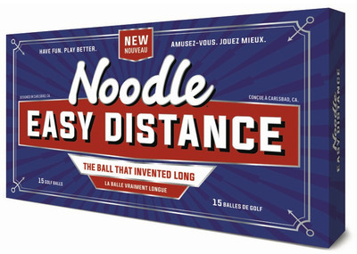 Noodle Easy Distance Golf Balls [15-Ball] LOGO ONLY
