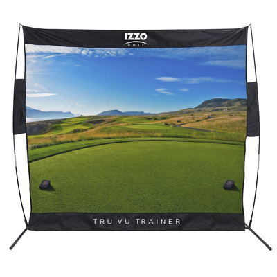 Izzo Golf- Links Course Tru Vu Trainer Net