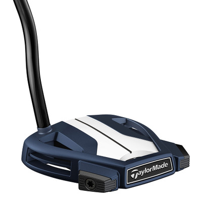 Pre-Owned TaylorMade Golf Spider X Navy/White Single Bend W/SightLine Putter