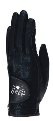 Glove It Golf- Ladies LLH Black Clear Dot Glove