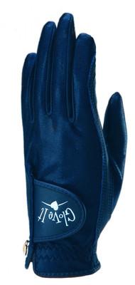 Glove It Golf- Ladies LLH Navy Clear Dot Glove