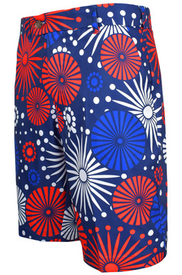 Loudmouth Golf- Fireworks StretchTech Shorts
