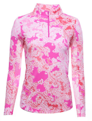 IBKUL Golf- Ladies Pascha Long Sleeve Mock