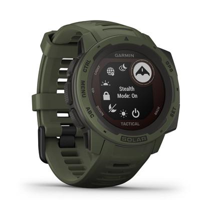 Garmin Golf- Instinct Tactical Solar GPS Watch