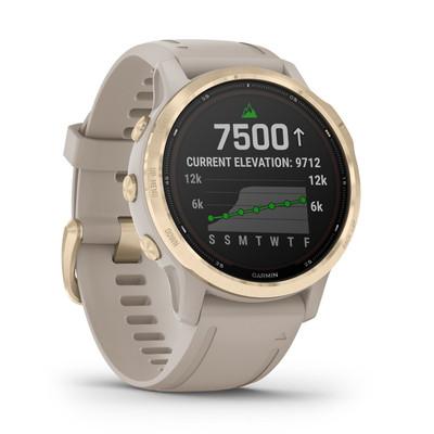 Garmin Golf- Fenix 6S Pro Solar GPS Watch