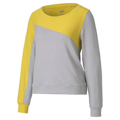 Puma Golf- Ladies Cloudspun Colorblock Crew Shirt