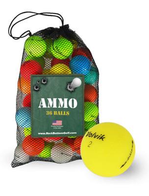Volvik Vivid Mix Recycled Mint Used Golf Balls [36-Ball]