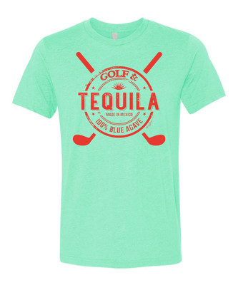 SwingJuice Golf and Tequila Short Sleeve T-Shirt