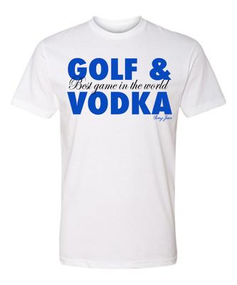 SwingJuice Golf and Vodka Short Sleeve T-Shirt