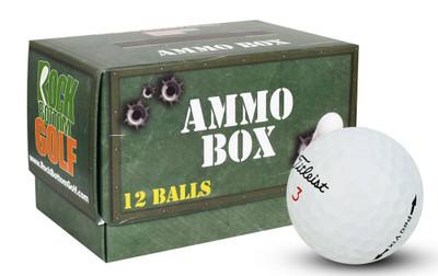 Titleist Pro V1x Mint Refinished Used Golf Balls [Ammo Box]