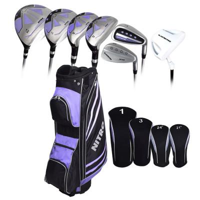 Nitro Golf- Ladies Blaster Pro 17 Piece Complete Set With Bag