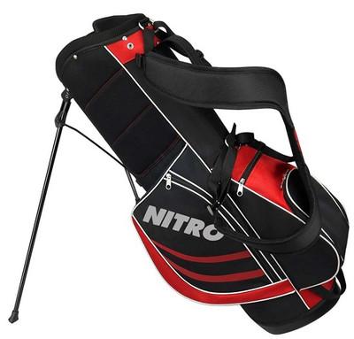 Nitro Golf- Blaster Pro 17 Piece Complete Set With Bag Graphite/Steel