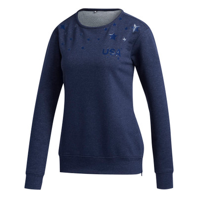 Adidas Golf- Ladies USA Crew Sweatshirt
