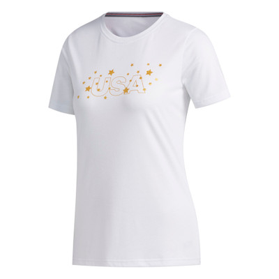 Adidas Golf Ladies USA T-Shirt