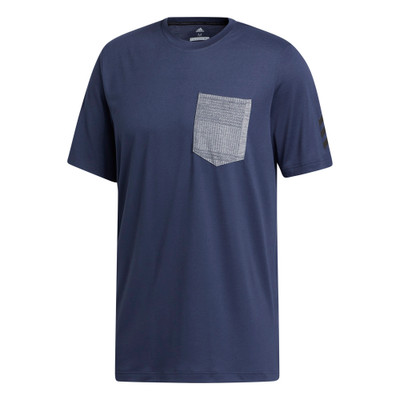 Adidas Golf Adicross Pocket Short Sleeve T-Shirt