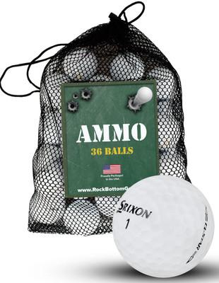 Srixon Q Star Recycled Near Mint Used Golf Balls [36-Ball]