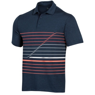 Under Armour Golf- Playoff 2.0 Incline Stripe Polo