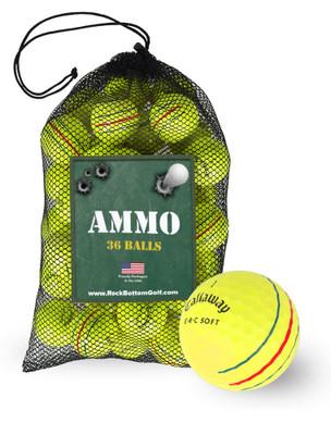 Callaway ERC Soft Fair Recycled Used Golf Balls [36-Ball]****