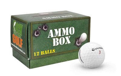 TaylorMade Tour Response Practice Golf Balls [Ammo Box]