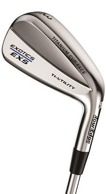Pre-Owned Tour Edge Golf EXS 220 Ti-Utility Silver Iron