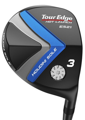 Tour Edge Golf- LH Hot Launch E521 Offset Fairway Wood (Left Handed)