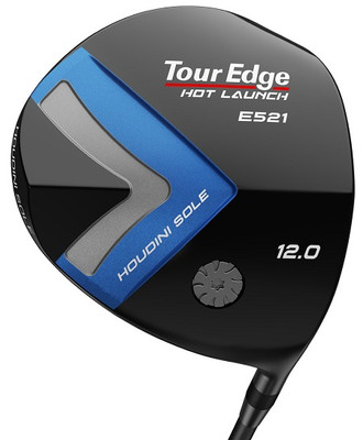 Tour Edge Golf- Ladies Hot Launch E521 Offset Driver