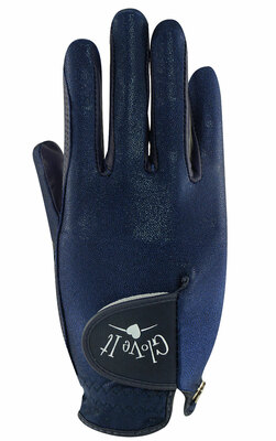 Glove It Golf- Ladies LRH Navy Clear Dot Glove