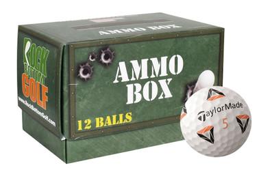 TaylorMade TP5x pix Practice Golf Balls [Ammo Box]