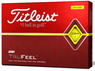 Titleist TruFeel Color Golf Balls