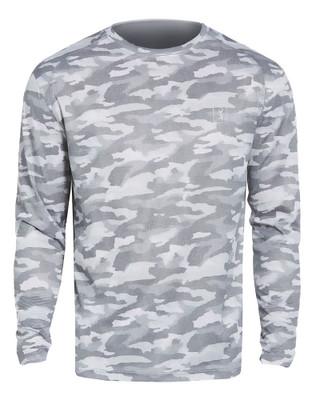 PGA Tour Golf- Printed Camo Crew Shirt