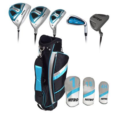 Nitro Golf- Ladies X Factor 13 Piece Complete Set With Bag