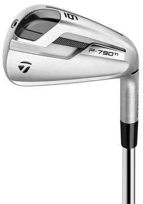 Pre-Owned TaylorMade Golf P790 Ti Irons (7 Iron Set)