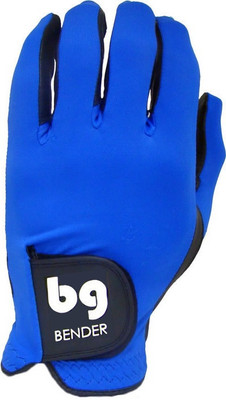 Bender Gloves- MLH Colored Golf Glove Spandex Blue