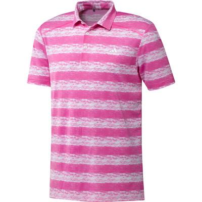 Adidas Golf- Painted Stripe Polo