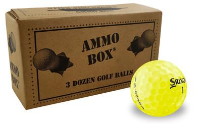 Srixon Z-Star 4th Generation Practice Golf Balls [36-Ball]