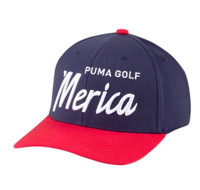 Puma Golf- Merica Script Snapback Cap