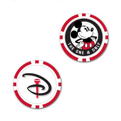 Team Effort Golf- Disney Mickey Mouse Individual Ball Marker