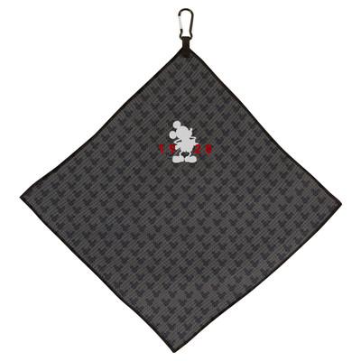 Team Effort Golf- Disney Mickey Mouse Grey Microfiber Towel