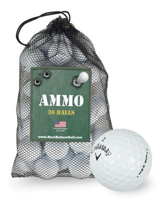 Callaway Hex Soft Near Mint Recycled Golf Balls [36-Ball]